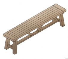 Saltash Large Bench